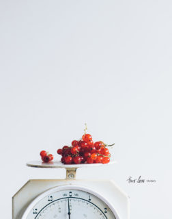 Two Loves Studio White Butter Cake Red Currants