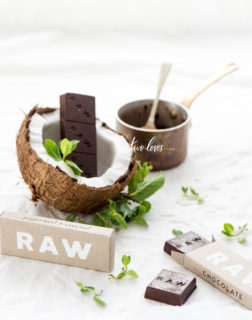 Raw chocolate coconut Two Loves Studio
