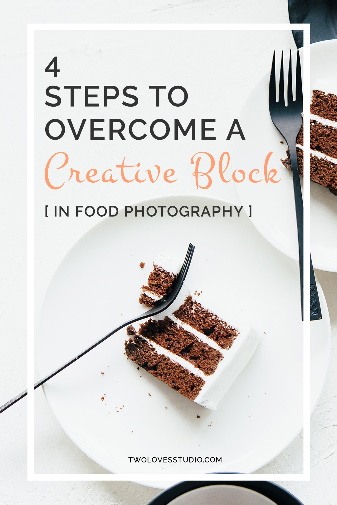 4 Steps to Overcome a Creative Block in Food Photography | What do you do if our arch nemesis strikes whilst we are shooting? Even worse, you're on set and the client is watching you struggle! Check out these 4 steps that'll have you back on your photography game in no time.