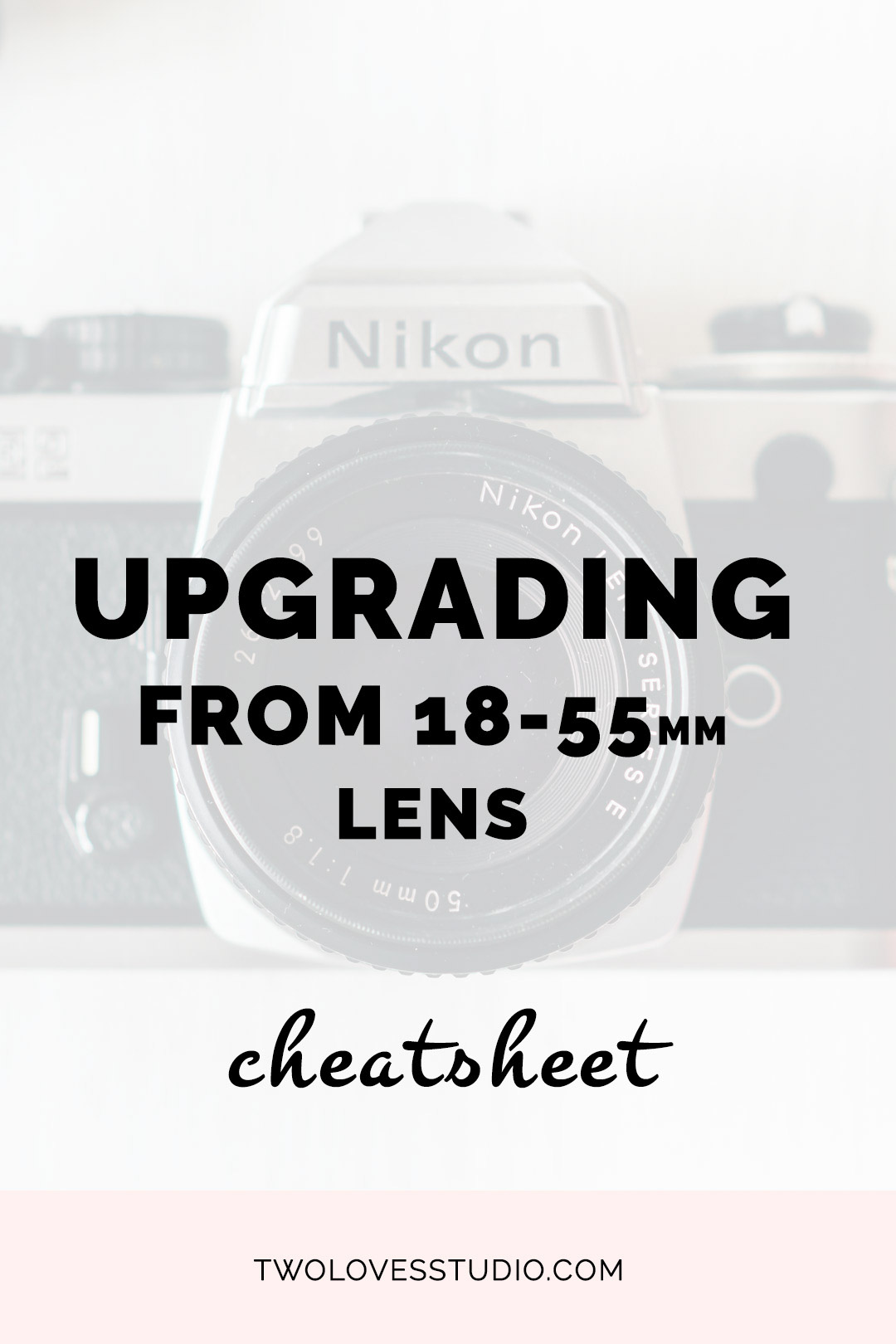 Considering upgrading your 18-55mm lens? Not sure where to start? CLICK through to get access to this FREE cheatsheet to help you consider whether or not to upgrade.