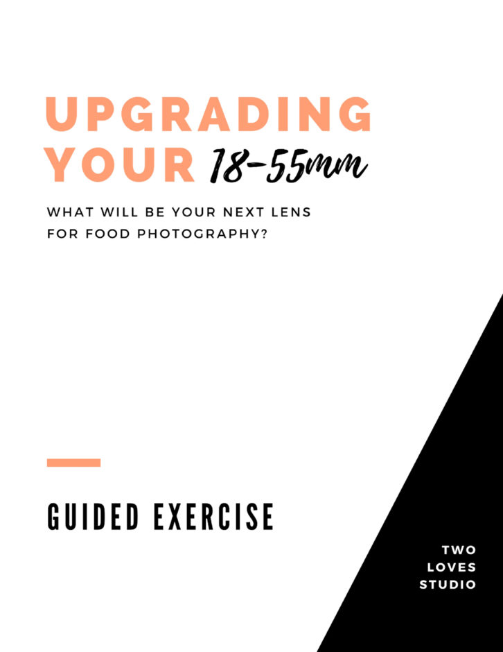 What will be your next food photography lens? Click to take this guided exercise.