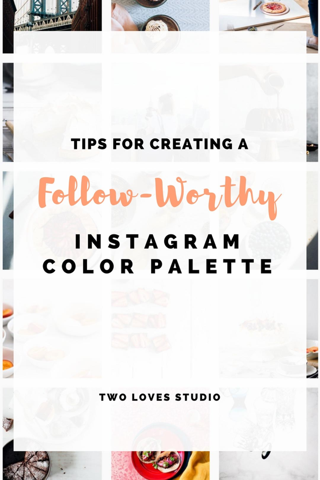 Make your food photography feed stand out with these tips for creating a gorgeous Instagram color palette that you can be proud of. CLICK TO READ.