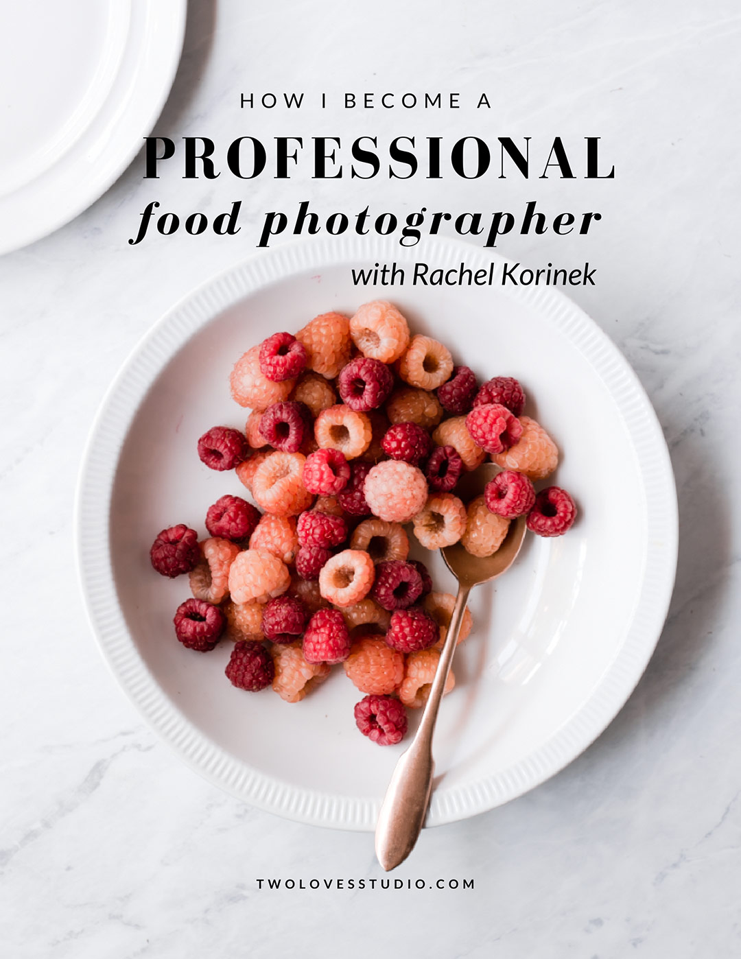 How Rachel Korinek became a professional food photographer. Click to watch her story.