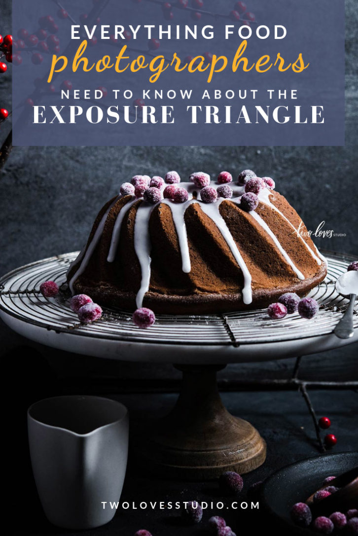 Mastering the exposure triangle will help you understand how to get the perfect exposure in your food photography. No matter what mode you shoot on.