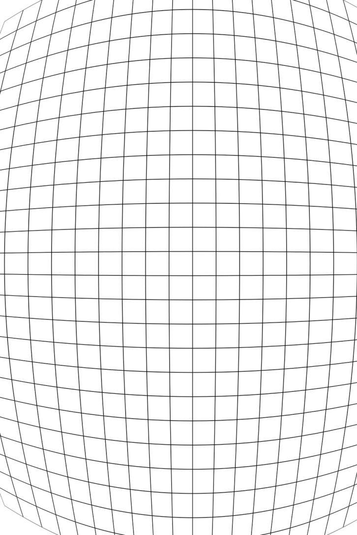 Distortion barrel pincushion