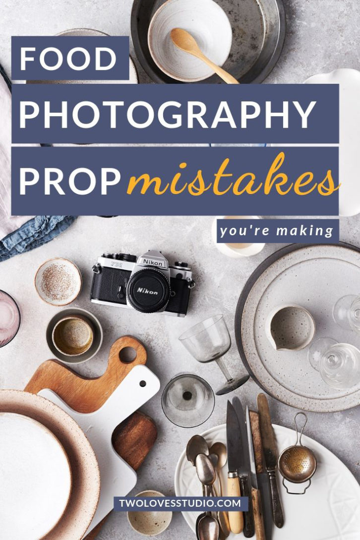 Props and backgrounds are so important in beautiful food photos. When creating your prop collection don't make these food photography prop mistakes. Click to read all 11.