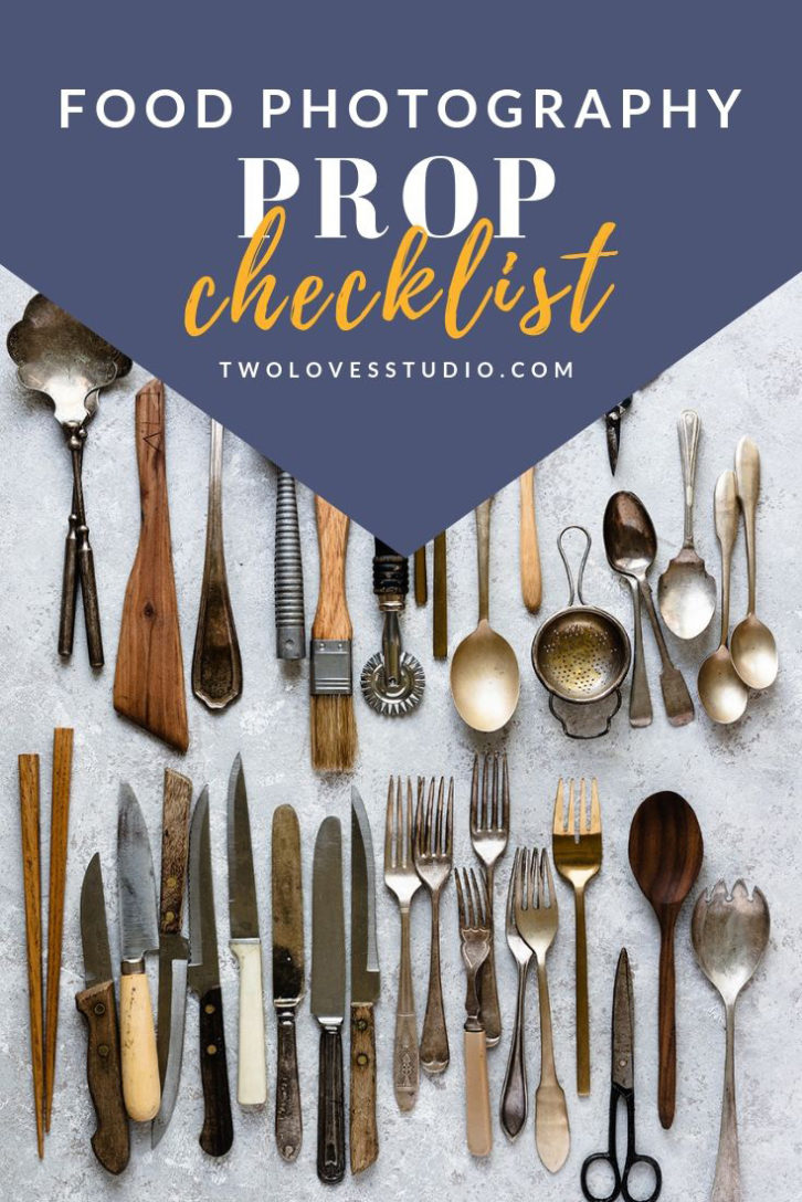 Building a strong prop collection can be hard and expensive. Do it right the first time by downloading this Free Food Photography Prop Checklist.