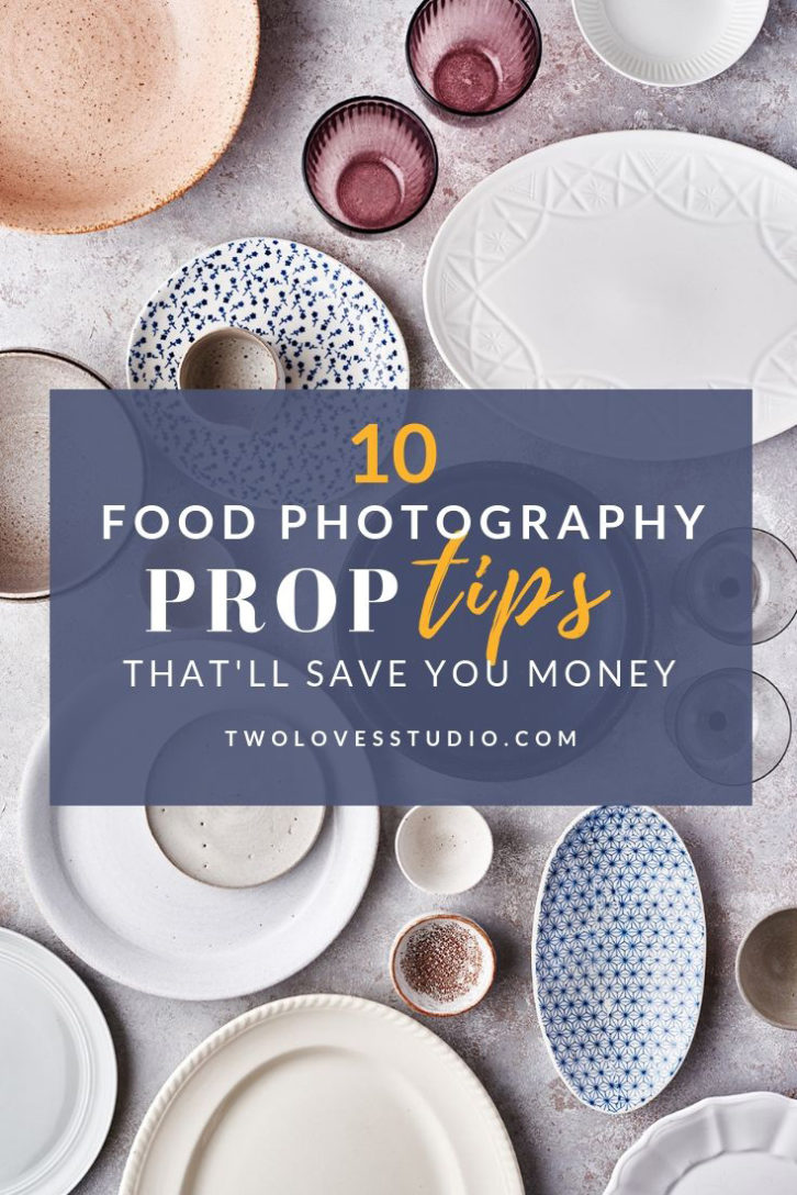 Photography is already expensive! Don't waste your money by buying the wrong props. Read these food styling prop tips and make your collection go further.