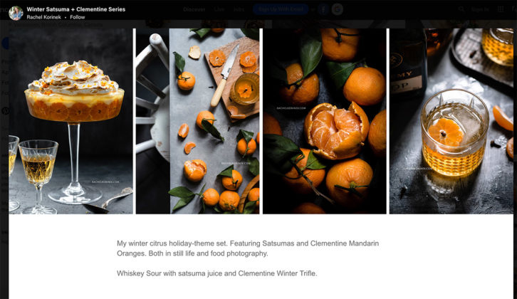 Winter clementine series