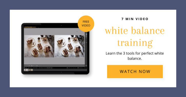 7 minute video on white balance training. Watch Now.