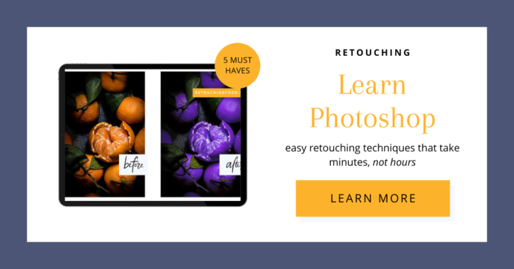 Learn Photoshop. Easy retouching techniques that take minutes, not hours. Click here to learn more.