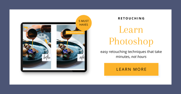 Retouching Learn Photoshop. Easy retouching techniques that take minutes, not hours. Click here to learn more.