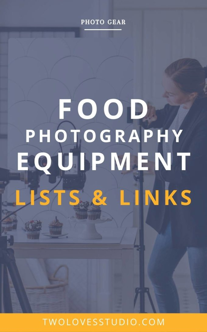 From cameras and lenses to tripods and lighting gear, here's a comprehensive list of food photography equipment that food photographer's need!